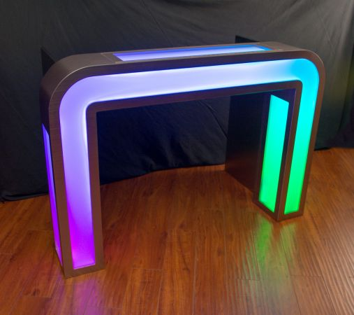 Illuminated DJ Table