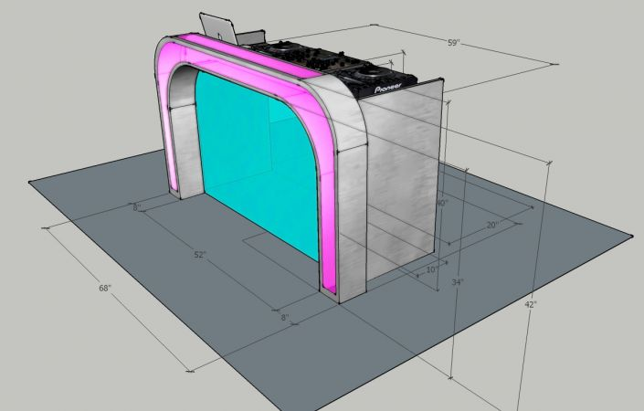 Illuminated DJ Table #205<br>1,234 x 788<br>Published 7 months ago