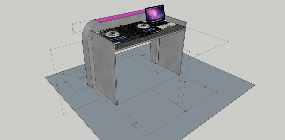 Illuminated DJ Table #208<br>2,436 x 1,200<br>Published 7 months ago